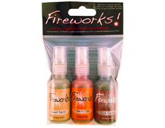 FW-003-005 Set 3 sprays de tinta brillante canones de Arizona Fireworks!