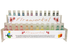 FW-100-072 Set 72 sprays de tinta brillante gomitas dulces display Fireworks!