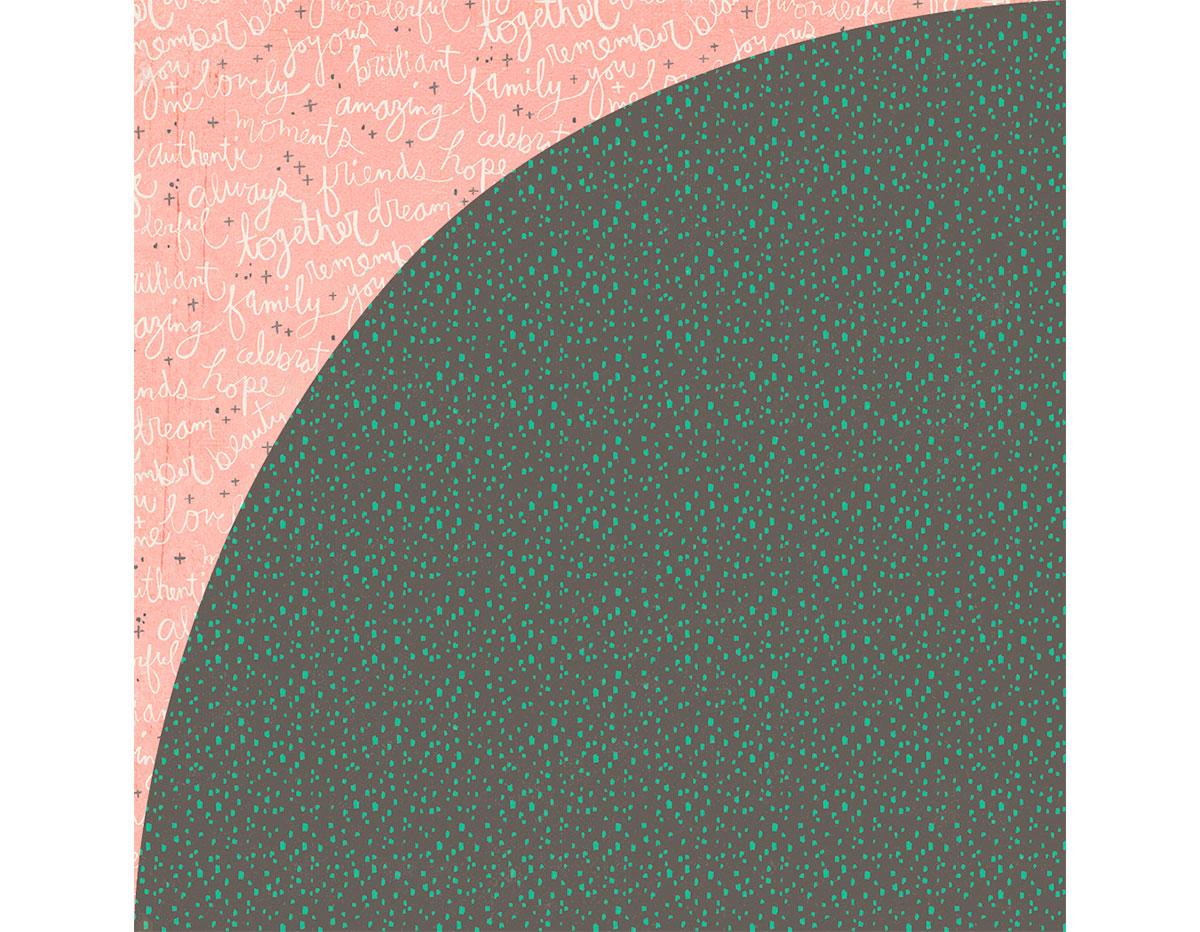 HIL-5075 Papel doble cara HILLSIDE Potting Soil Basic Grey