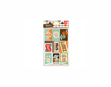 HIP-4109 HIPSTER - VINTAGE STAMPS Basic Grey