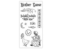 IC0251 MOTHER GOOSE- CLG STAMP G45 MOTHER GOOSE 1* Graphic45