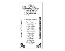IC0285 12 DAYS OF CHRISTMAS- CLG STAMP G45 TWELVE DAYS OF CHRISTMAS 1* Graphic45