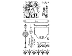 IC0343S Set 11 sellos de caucho n 3 Graphic45