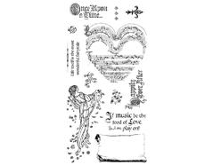 IC0358 Set 12 sellos de caucho n3 Graphic45 - Ítem