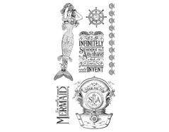 IC0359 Set 6 sellos de caucho n1 Graphic45