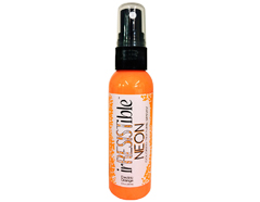 IR-000-072 Tinta relieve color naranja electrico brillante Irresistible