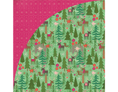JBY-4931 Papel doble cara JUNIPER BERRY Reindeer Games Basic Grey