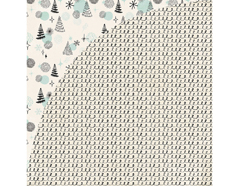 JBY-4941 Papel doble cara JUNIPER BERRY Garland Basic Grey - Ítem