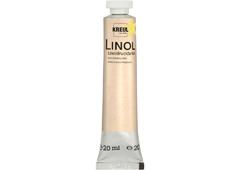 K15702 Linoleo colores para impresion amarillo 20ml Hobby line