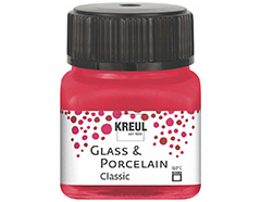 K16206 Pintura porcelana brillante 160C rojo carmin Hobby line