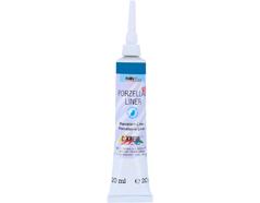 K16254SB Pintura para contornos PORCELANA LINER 160C azul Hobby line