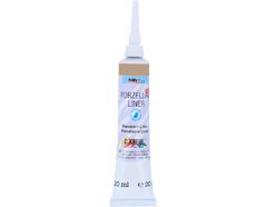 K16260SB Pintura para contornos PORCELANA LINER 160C plata Hobby line