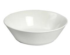 K16551 Cuenco porcelana blanco Hobby line