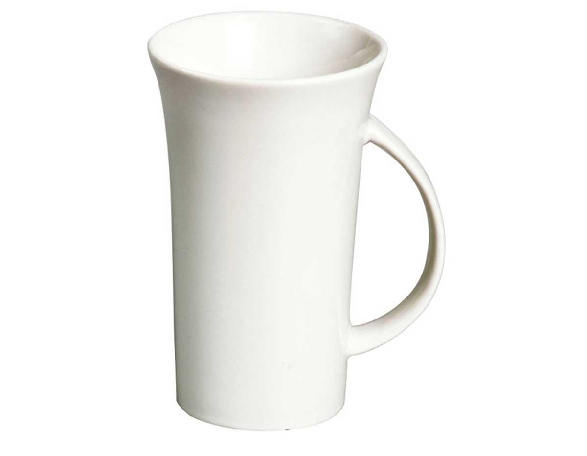 K16553 Taza porcelana XXL blanca Hobby line