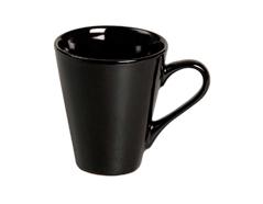 K16556 Taza ceramica pequena negra Hobby line