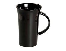 K16557 Taza ceramica XXL negra Hobby line