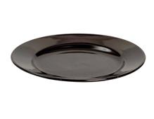 K16558 Plato ceramica negro Hobby line