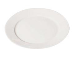 K16564 Plato porcelana blanco Hobby line - Ítem