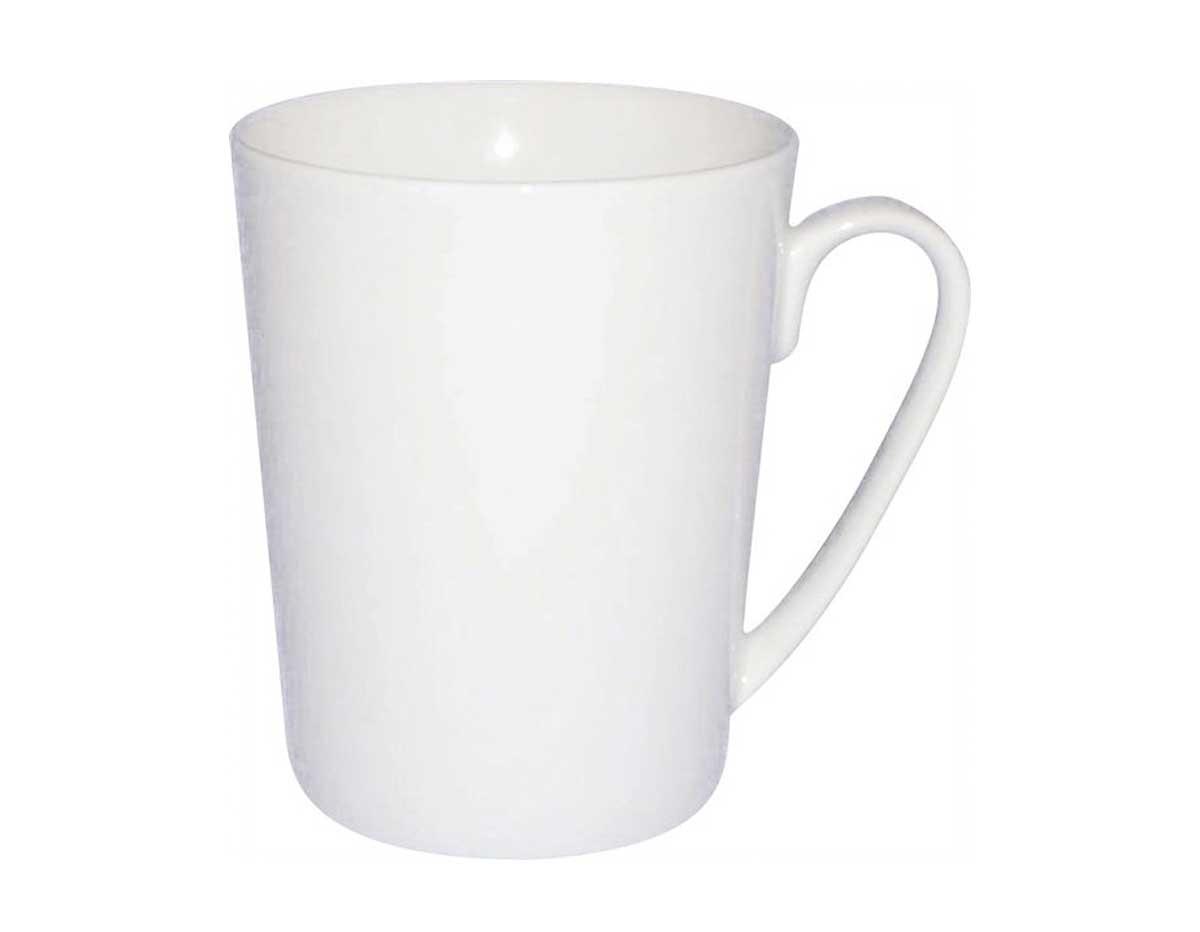 K16565 Taza cafe porcelana blanca Hobby line