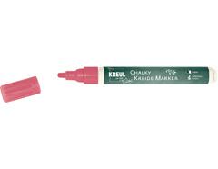 K22713 Rotulador tiza CHALKY CHALK rojo punta bala 2-3mm C Kreul
