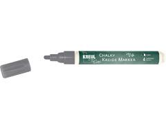 K22718 Rotulador tiza CHALKY CHALK gris volcanico punta bala 2-3mm C Kreul