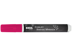 K22720 Rotulador tiza CHALKY CHALK rosa neon punta bala 2-3mm C Kreul
