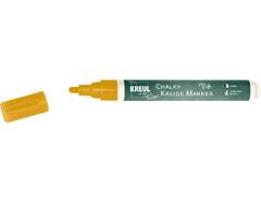 K22722 Rotulador tiza CHALKY CHALK oro punta bala 2-3mm C Kreul
