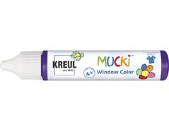 K24409 Pintura para ventana violeta 29ml Mucki