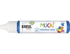 K24411 Pintura para ventana azul oscuro 29ml Mucki