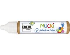 K24415 Pintura para ventana marron claro 29ml Mucki
