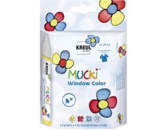 K24450 Set 4 pens pintura para ventana Mucki