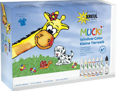 K24451 Kit pintura para ventana Pequena fauna Mucki
