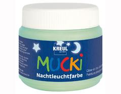 K24500 Pintura MUCKI brilla-en-la-oscuridad 150ml Mucki