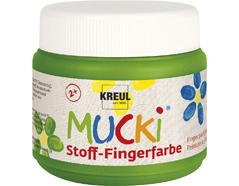 K28105 Pintura dedos para textil verde 150ml Mucki