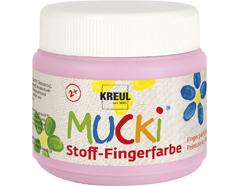 K28108 Pintura dedos para textil rosa claro 150ml Mucki
