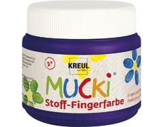 K28110 Pintura dedos para textil violeta 150ml Mucki