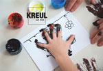 Kit pintura MUCKI Pintamos con nuestras manos y dedos