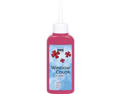 K40207 Pintura para ventana transparente WINDOW COLOR rojo rosado C Kreul