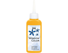 K42705 Pintura vidrio GLAS DESIGN amarillo oro Hobby line