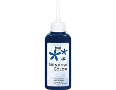K42717 Pintura vidrio GLAS DESIGN azul noche Hobby line