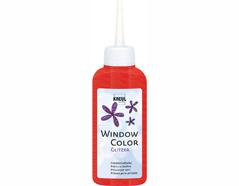 K42725 Pintura vidrio GLAS DESIGN purpurina rojo Hobby line