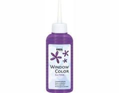 K42726 Pintura vidrio GLAS DESIGN purpurina violeta Hobby line