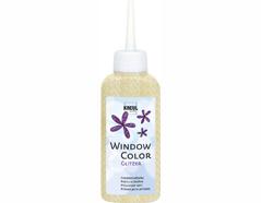 K42727 Pintura vidrio GLAS DESIGN purpurina oro Hobby line