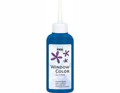 K42729 Pintura vidrio GLAS DESIGN purpurina azul diamante Hobby line