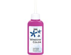K42736 Pintura vidrio WINDOW COLOR rosa 80ml C Kreul
