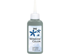 K42743 Pintura vidrio GLAS DESIGN purpurina verde Hobby line