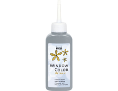 K42753 Pintura para ventana metalica WINDOW COLOR plata 80ml C Kreul