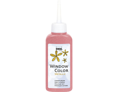 K42756 Pintura para ventana metalica WINDOW COLOR rosa 80ml C Kreul