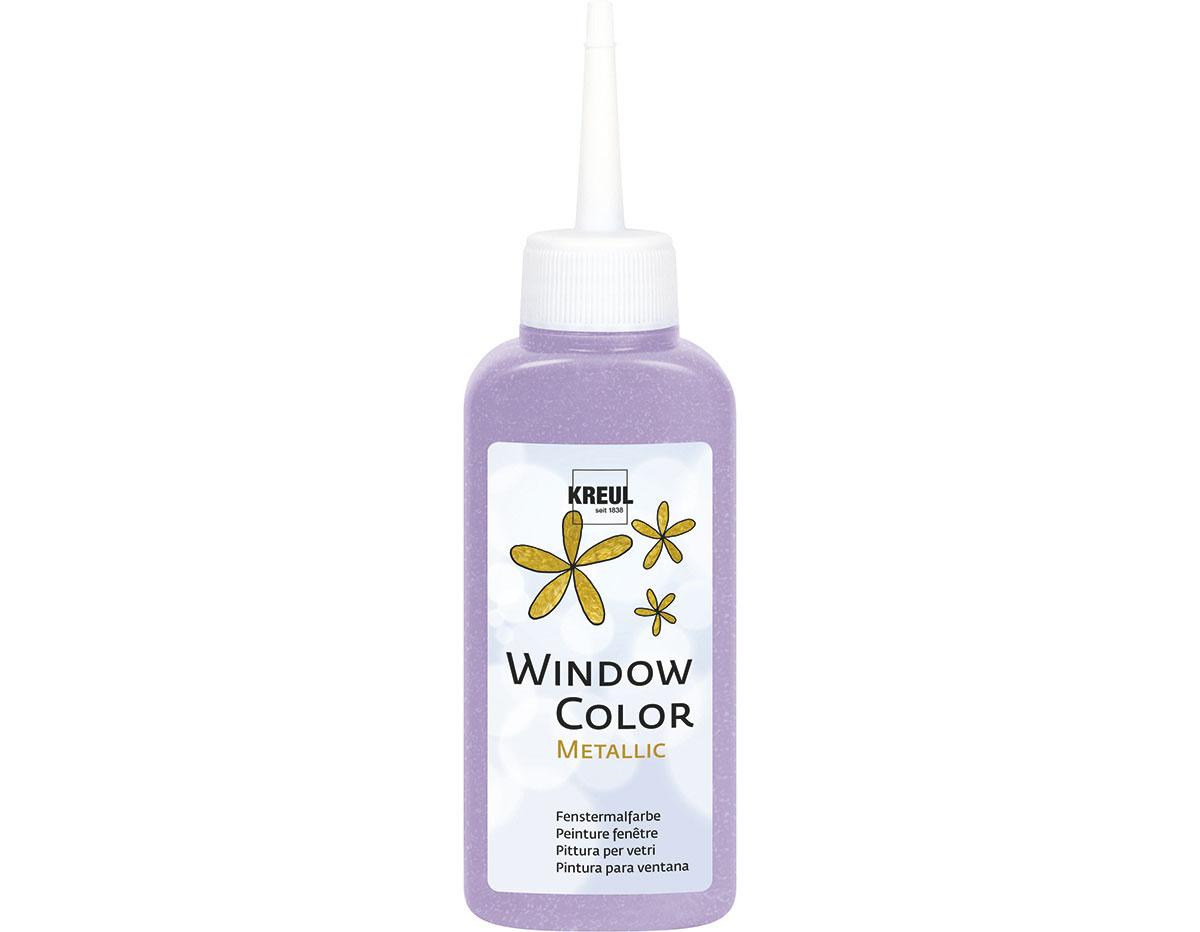 K42757 Pintura para ventana metalica WINDOW COLOR violeta 80ml C Kreul
