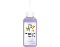 K42757 Pintura para ventana metalica WINDOW COLOR violeta 80ml C Kreul